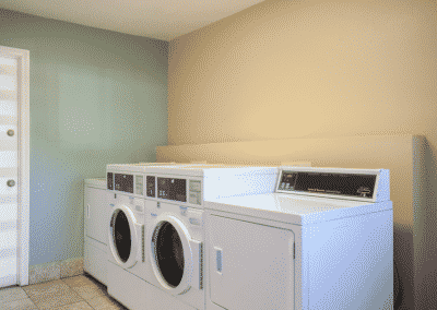 On-site laundry facility