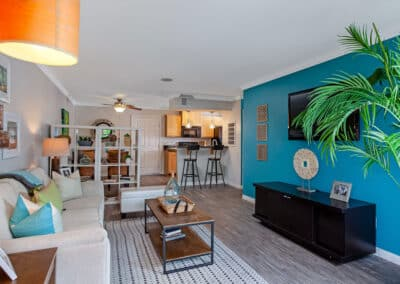 Beachwood Apartments modern living area