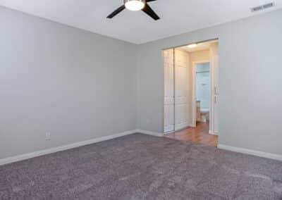 Beachwood Apartment master bedroom