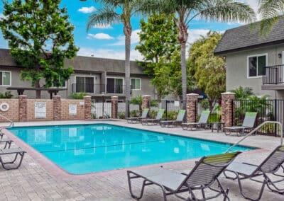 Beachwood Apartments pool