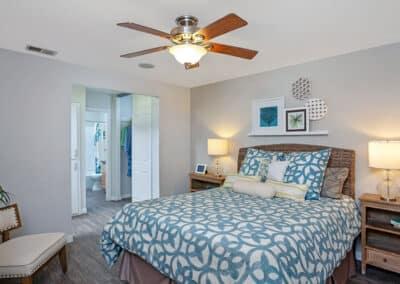 Beachwood Apartments master bedroom