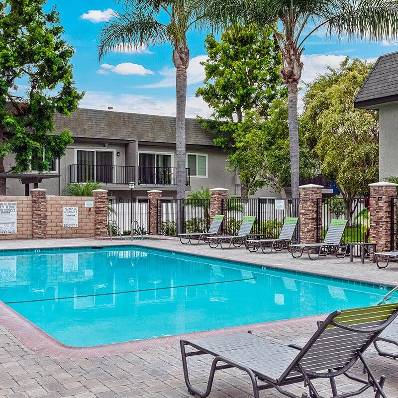 Beachwood Apartments Resort Style Pool